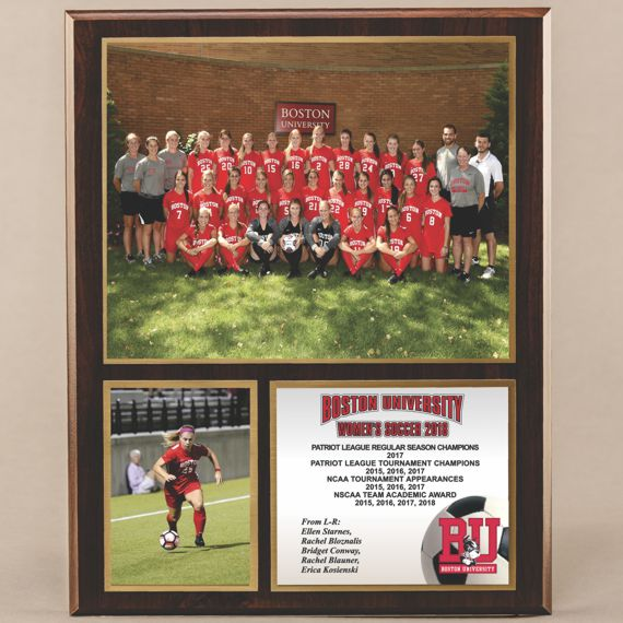 12 x 15 Classic Team Photo Plaque for Women's Soccer Champions