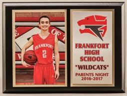 Parent Night, Senior Recognition Plaques