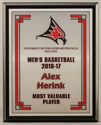 MVP Economy Player recognition Plaques