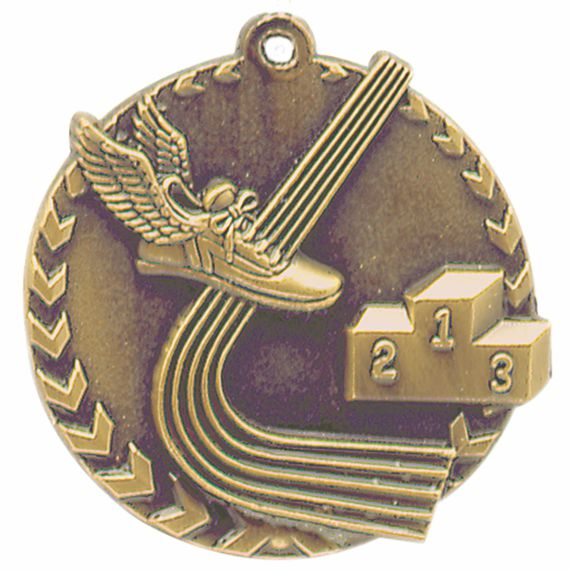 Gold Track Medal - Also Available in Silver and Bronze